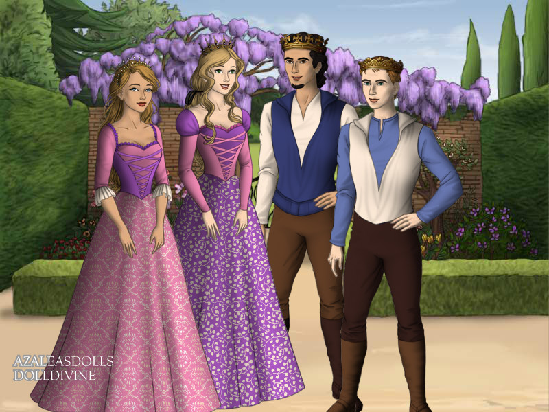 Rapunzel And Flynn Family