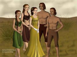 Tarzan and Jane by k2pony