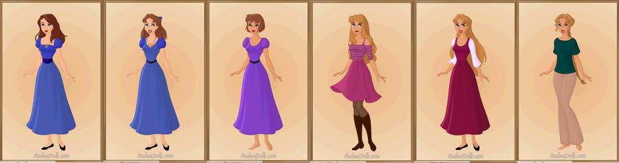 Peter Pan Girls by k2p...