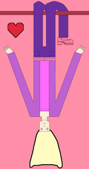 My test artwork no. 10: Upside-down Yume