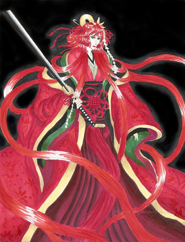 Bleach: Crimson Princess by MannaKana on DeviantArt
