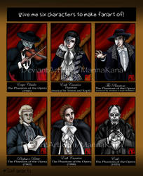#SixFanarts: PotO in Different Versions