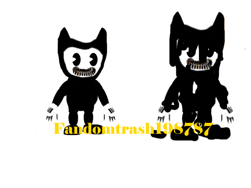 Nightmare Bendy! by Fandomtrash198787