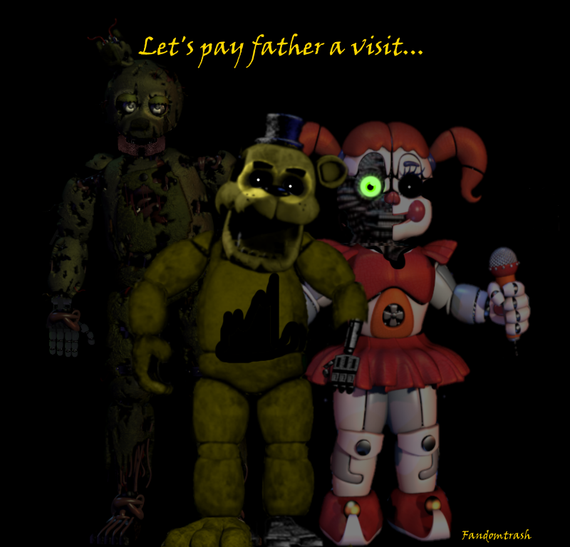 FNaf 6 teaser!!!!1!!! by Fandomtrash198787