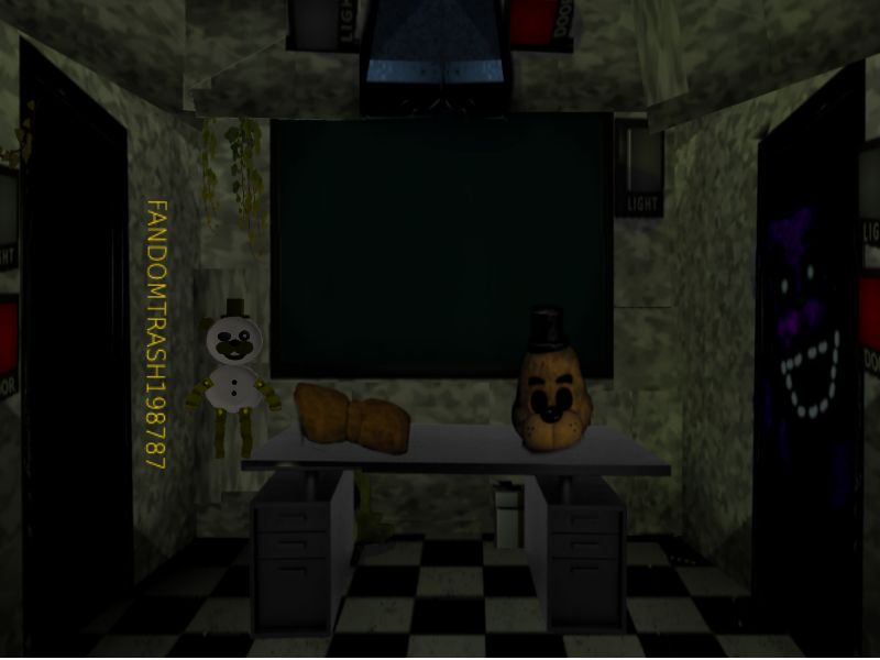 Fnaf 6 : His revenge office! by Fandomtrash198787 on DeviantArt