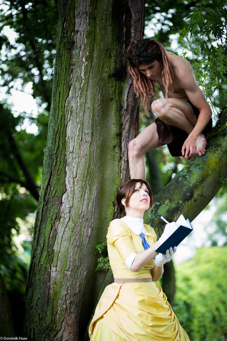 Tarzan and Jane by Hasengott