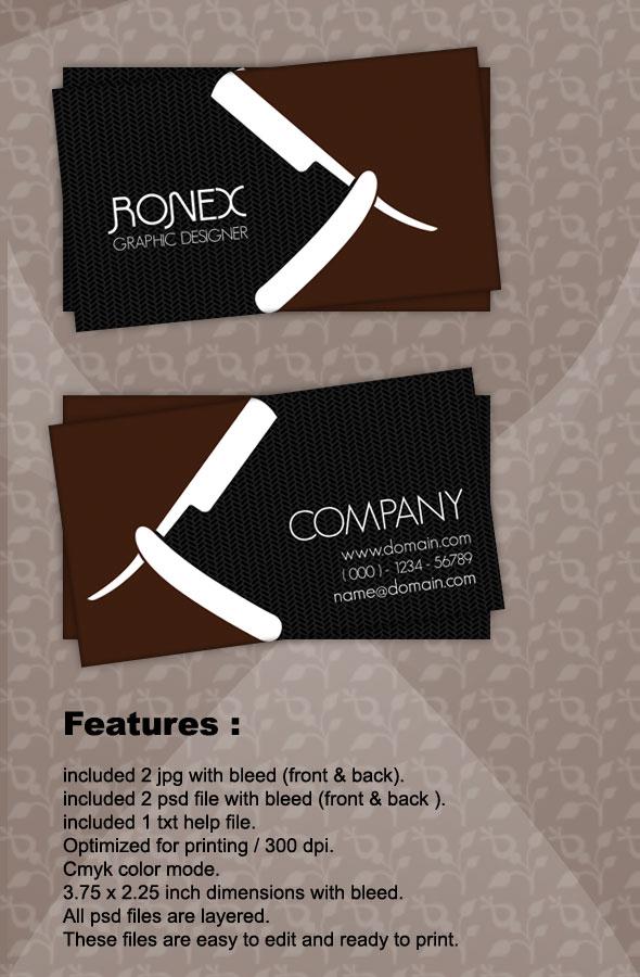 Saloon business card by xnorpix on deviantart saloon business card by xnorpix reheart Image collections