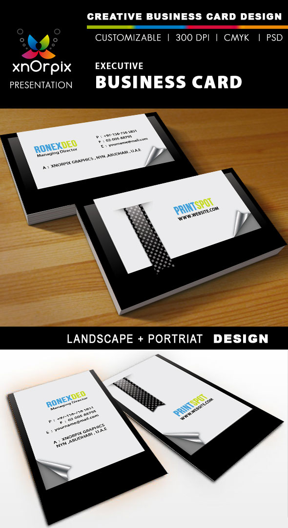 Executive Business Card by xnOrpix