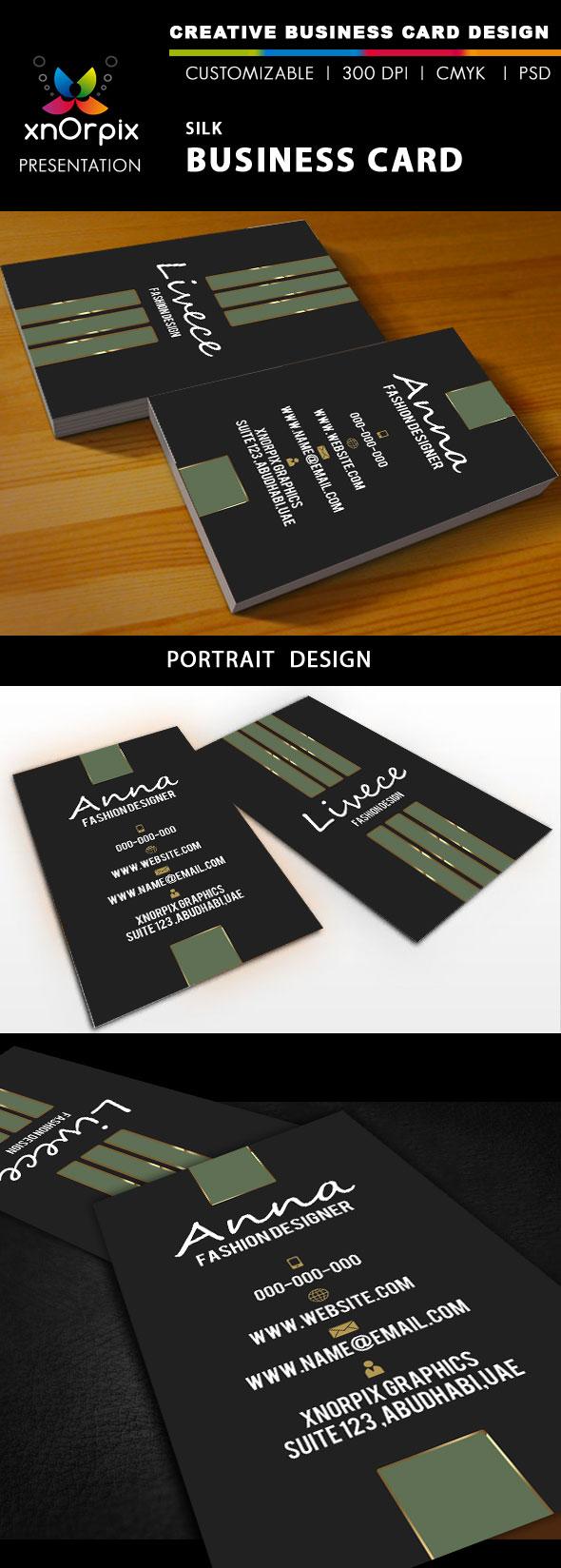 Silk Business Card