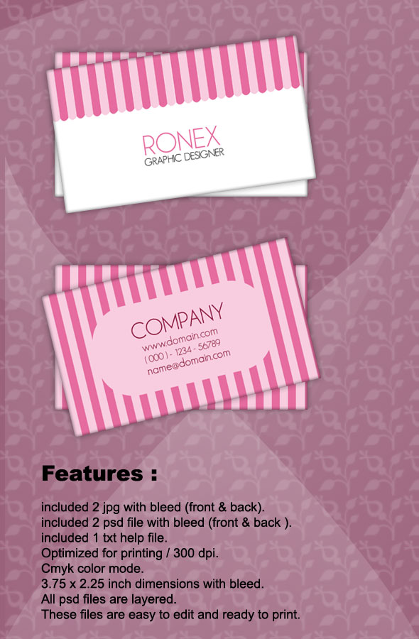 Sweet business card by xnorpix on deviantart sweet business card by xnorpix colourmoves