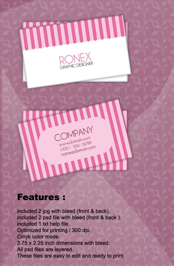 Sweet business card by xnorpix on deviantart sweet business card by xnorpix colourmoves Images