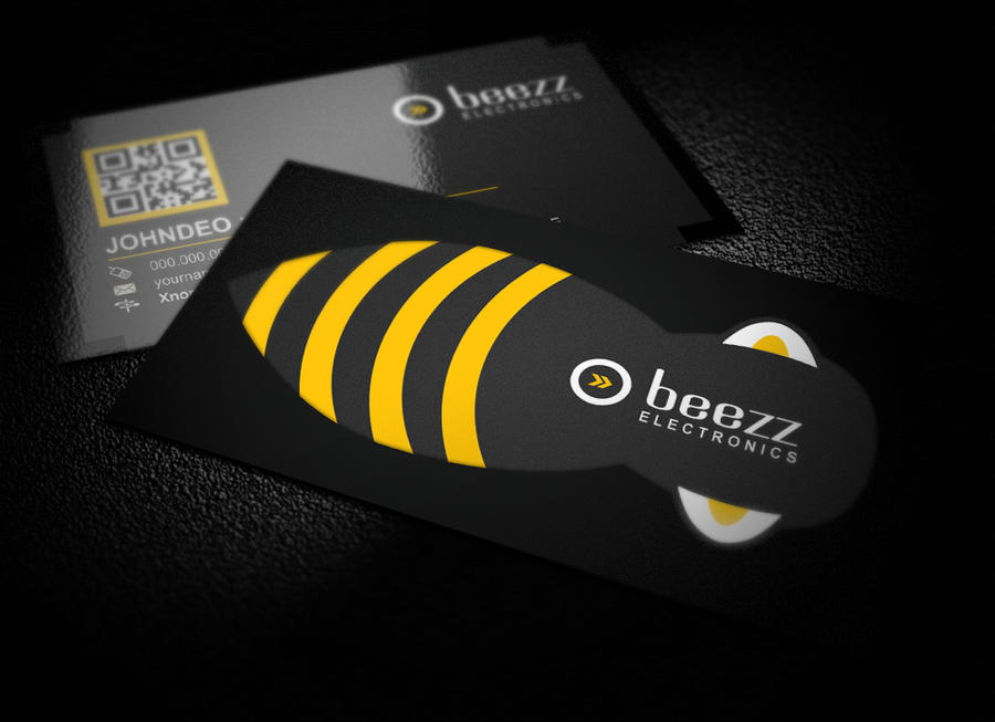 Bee business card by xnorpix on deviantart for Bee business cards