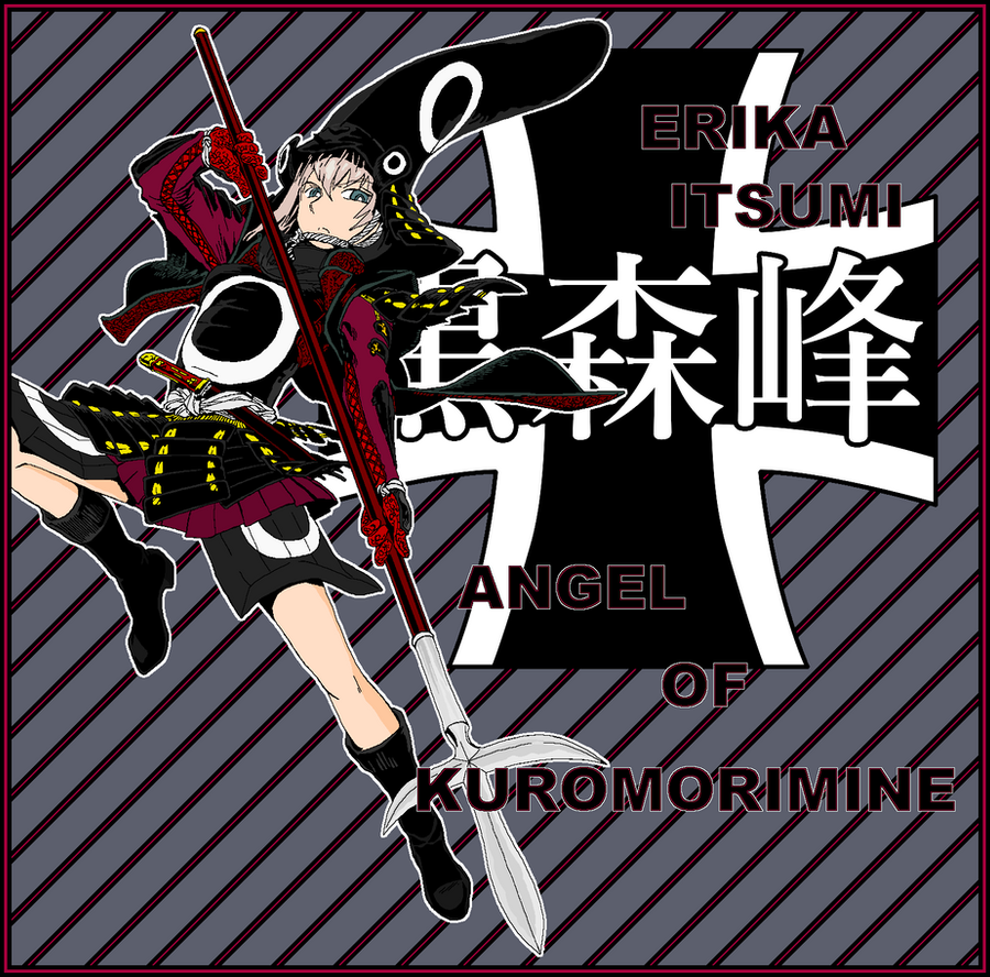 Erika Itsumi Angel of Kuromorimine 3 by mirage2000