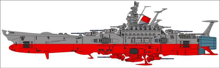 Spacebattleship Yamato 2199 by mirage2000