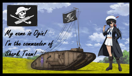 Ogin commander of Shark team by mirage2000