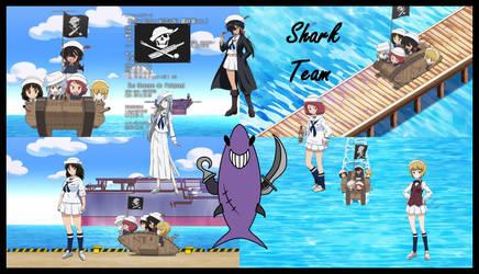 Shark Team 2 girls und panzer das final by mirage2000