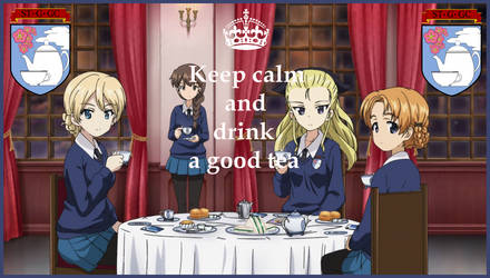Keep calm and drink tea with St-Glorianna by mirage2000
