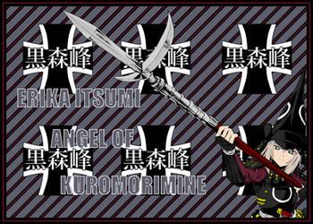 Erika Itsumi Angel of Kuromorimine 4 Onna-Bugeisha by mirage2000
