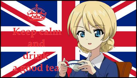 Darjeeling Union Jack Drink Tea by mirage2000