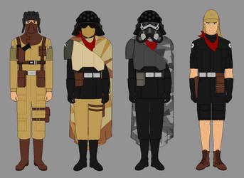 Various troops fleet Capelliya