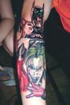 Batman Harley Quinn and Joker