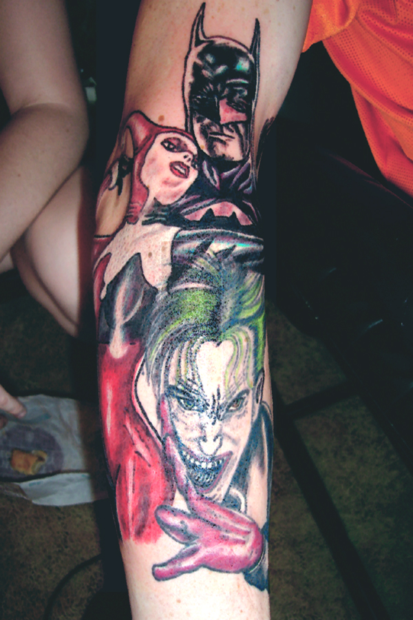 Joker By Sp0okyOne As Mels Tatuagens Do Coringa  Galeria De Fotos
