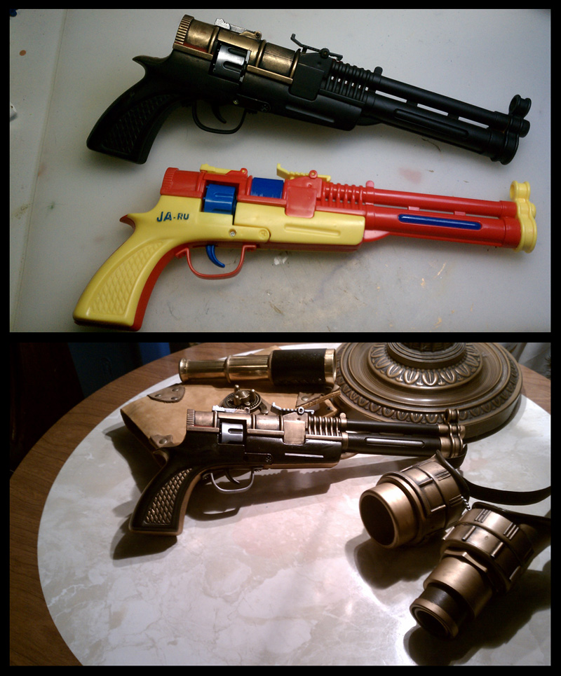Brass Blaster by CaelynTek