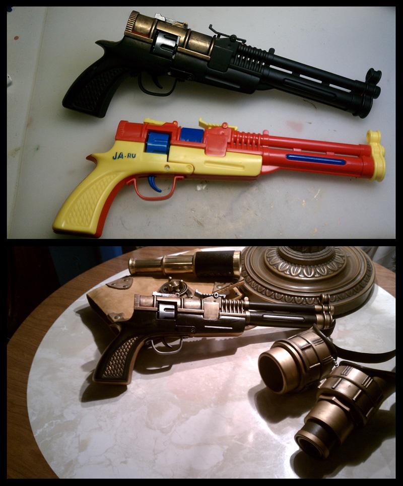 Brass Blaster by CaelynTek
