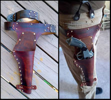 Leather Holster For Lemat by CaelynTek