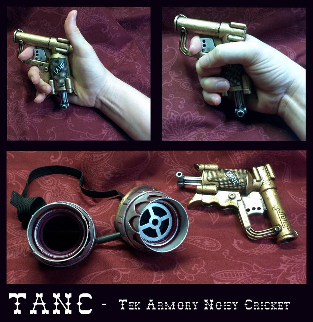 TANC - Tek Armory Noisy Cricket by CaelynTek
