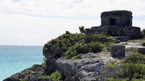 Tulum Ruins Ocean View