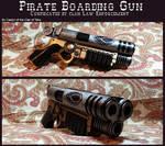 Confiscated Pirate Boarding Gun
