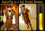 Jedi Cricket Batsman by CaelynTek