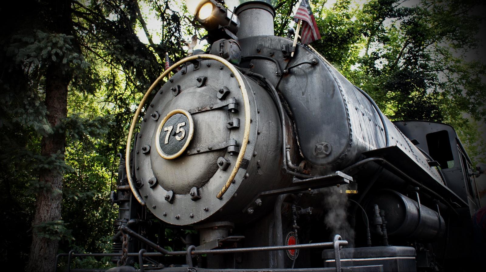Steam Engine - Flagg Coal Co. #75