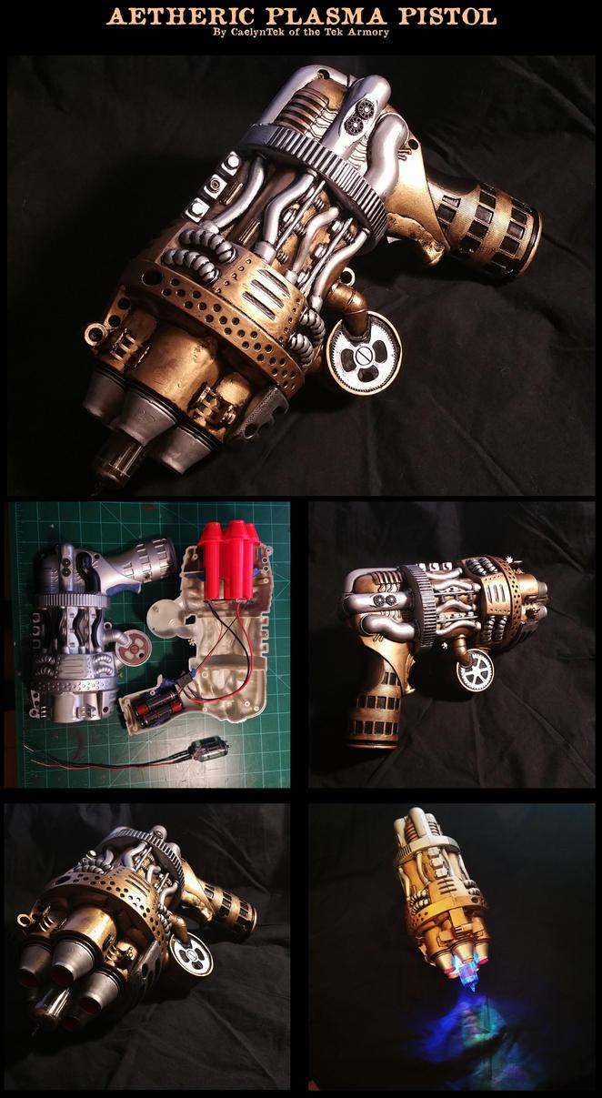 Aetheric Plasma Pistol by CaelynTek