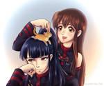 Kanda and Rei