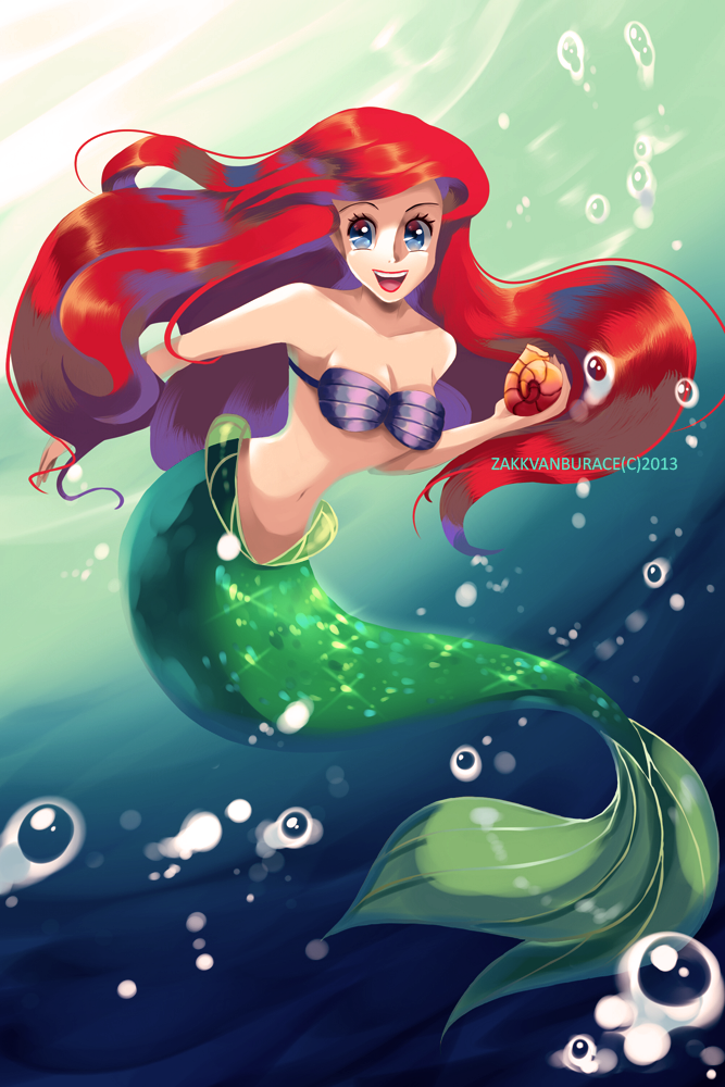 Ariel by ZakkVanBurace