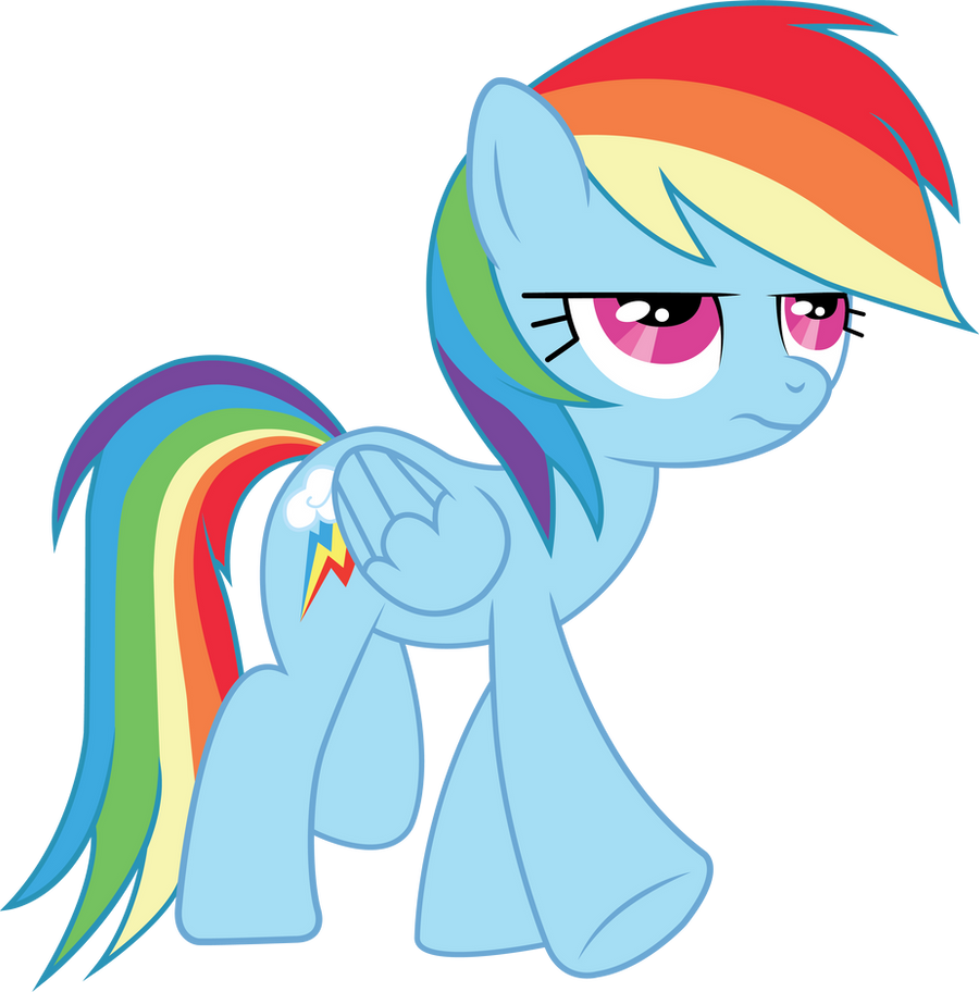 Rainbow Dash Vector by MLP-Mayhem