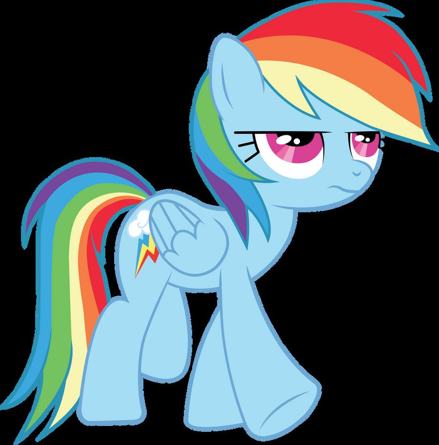 Rainbow Dash Vector by MLP-Mayhem
