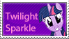 Twilight Sparkle Stamp by MLP-Mayhem