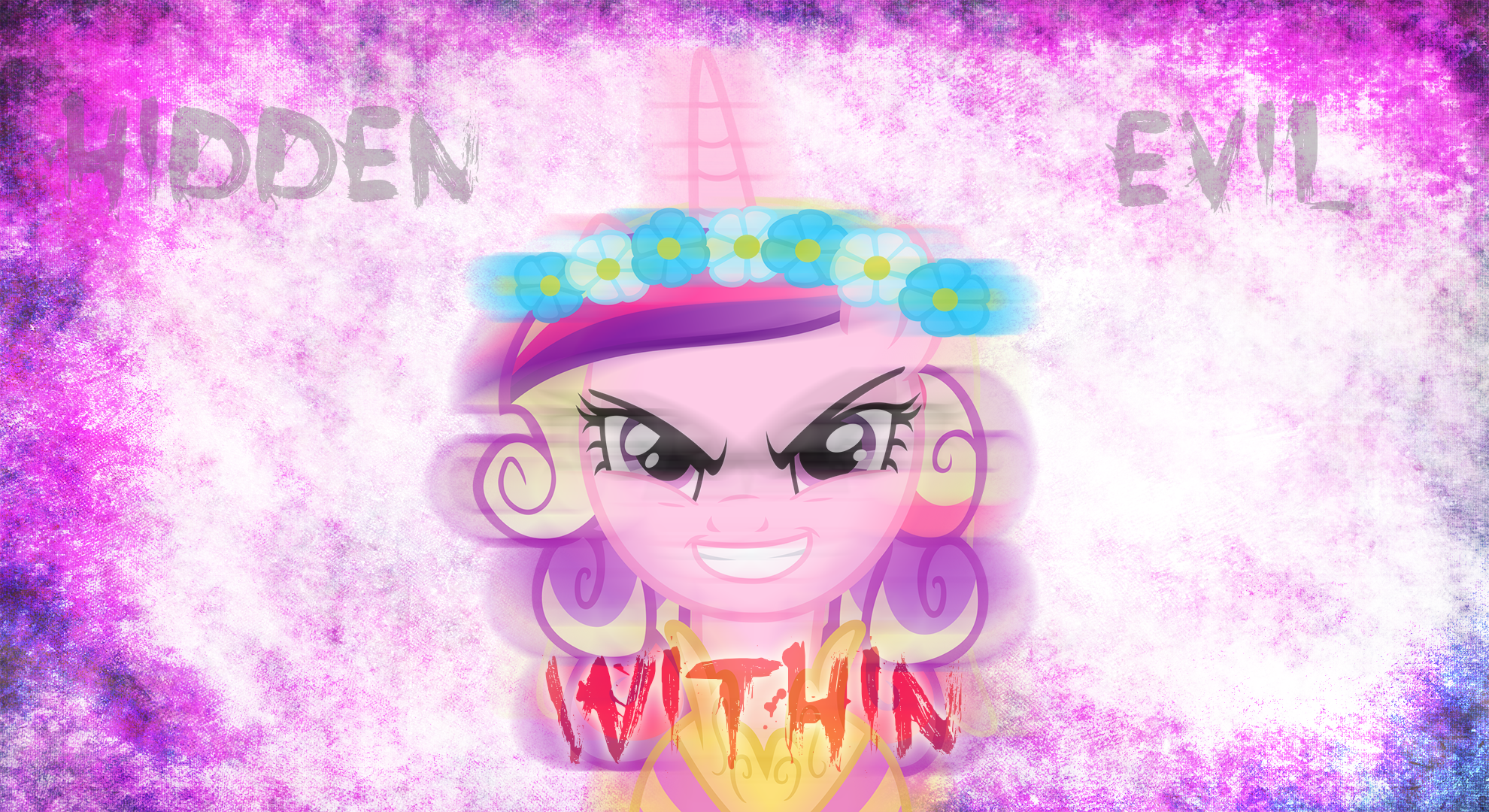 Princess Cadence Hidden Evil Within Wallpaper by MLP ...