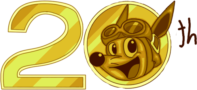 Happy 20th, Sparkster. by DynamiteManEXE