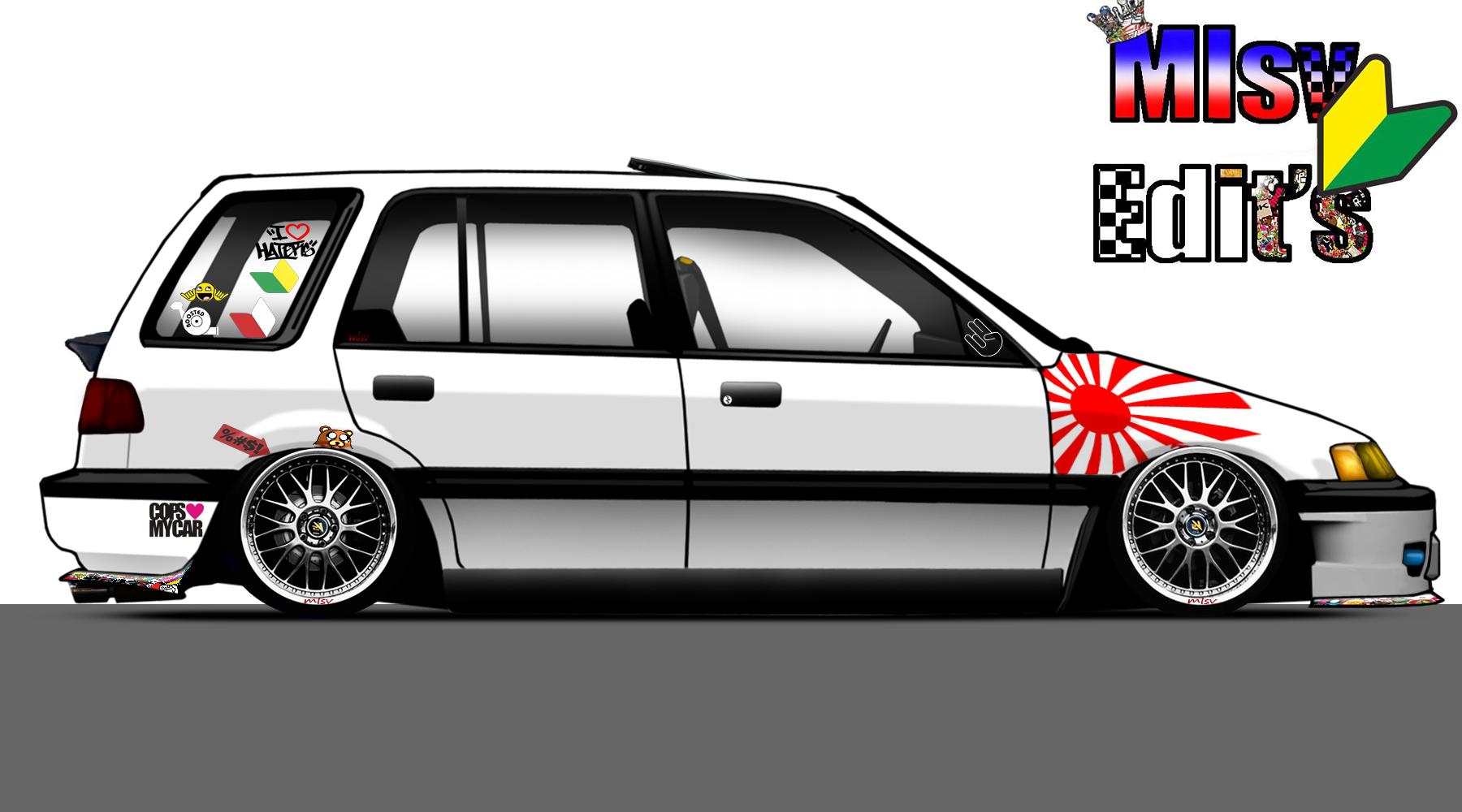 Custom honda civic wagon