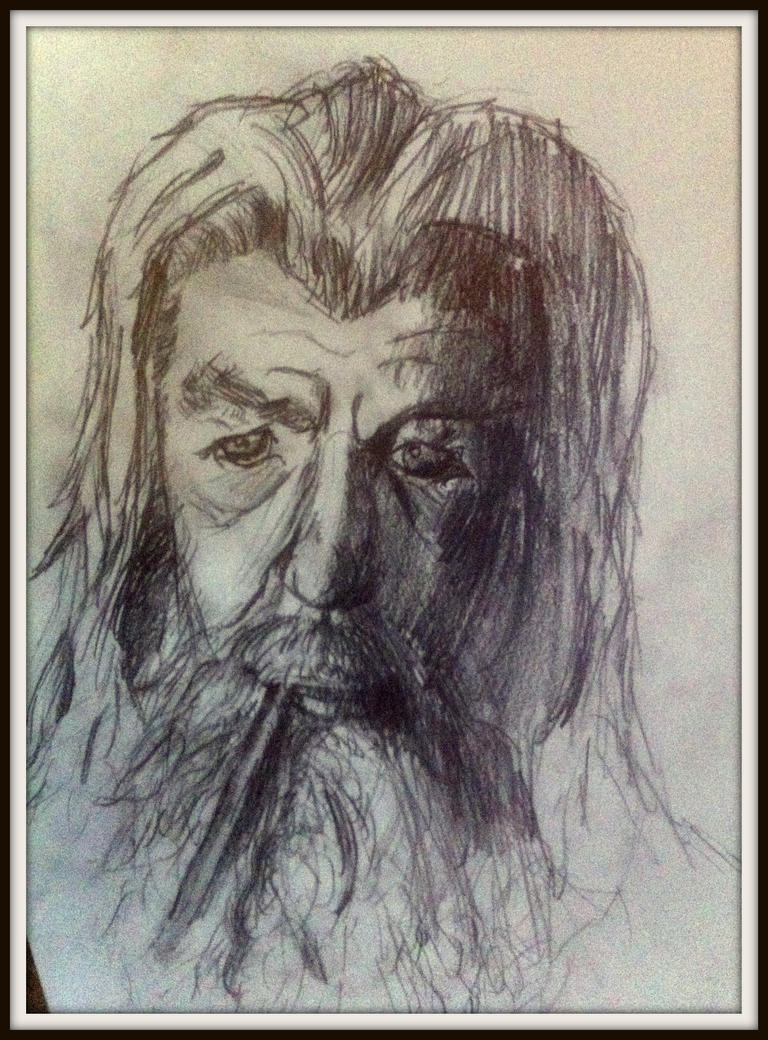 Gandalf the Grey by Silferath