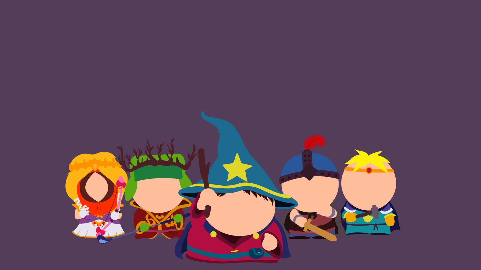 minimalist south park stick of truth by lumoslaurie on