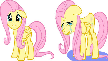 Fluttershy is crying by pipa9943