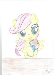 Filly Fluttershy by pipa9943