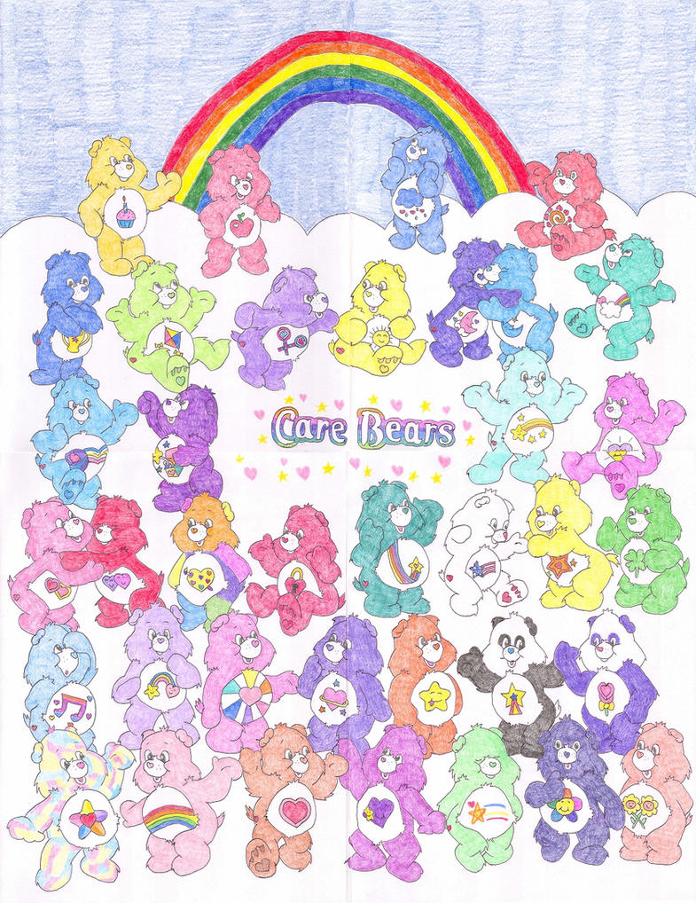 Care Bears Poster By N64chick On Deviantart