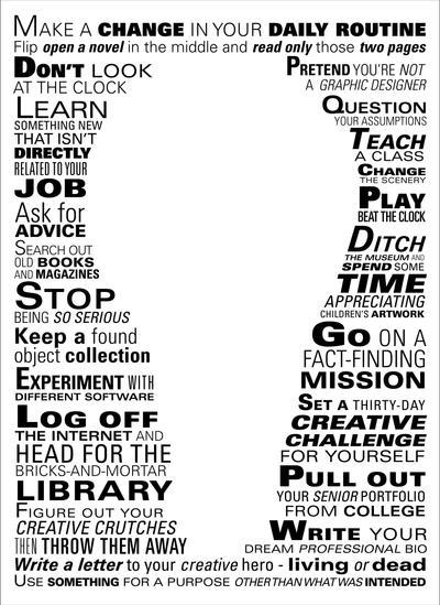 23 Creativity Steps by DC-Junior