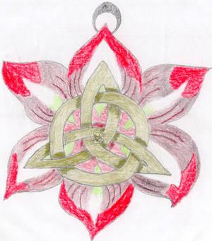 Celtic Flower Christmas Ornament (First Draft)